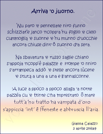 Conosciuto Lingua E Dialetto Napoletano | vongolablog-il blog su Napoli di NB63
