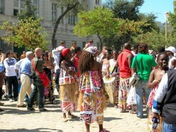 danzatrici africane